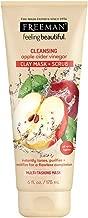 Freeman Facial Apple Cider Vinegar Clay Mask + Scrub 6 Ounce (177ml) (6 Pack)