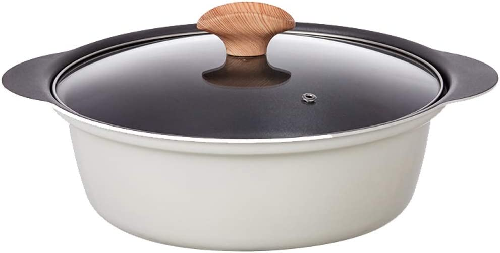 24cm Household Soup 4 years warranty Free Shipping New Pot Non-stick Induction Milk Physical
