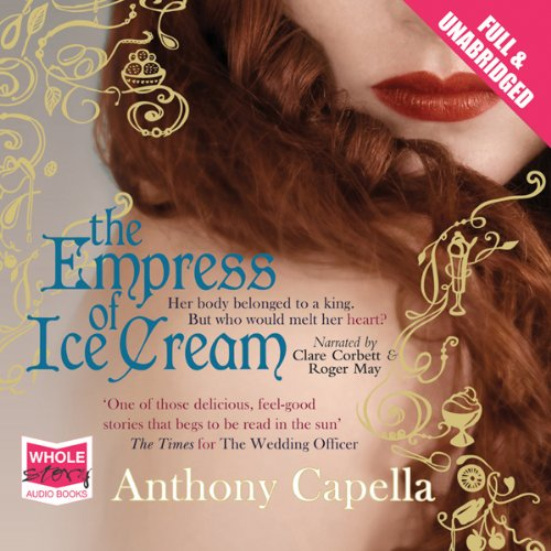 The Empress of Ice Cream audiobook cover art