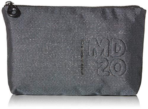 Mandarina Duck Damen Md20 Lux Minuteria Clutch, Schwarz (Titanium), 24x15x3.5 centimeters