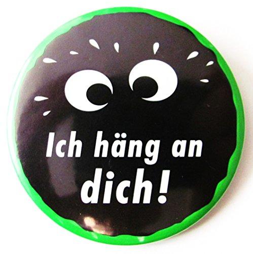 Kleiner Feigling - Ich häng an Dich - Button 55 mm