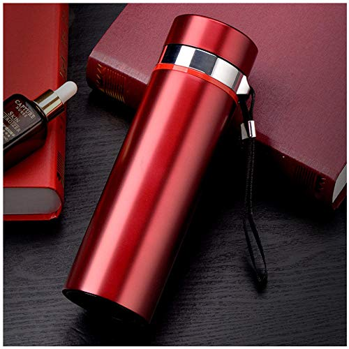 Wgath Fashion 500Ml Home Thermos Thee Thermoskan Met Filter Roestvrij Staal Thermische Cup Koffiemok Waterfles Kantoor Bedrijf B