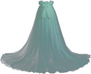 GRACEART Gonna Lunga in Tulle da Donna con Fiocco alla Vita Wedding Lady