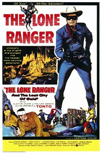 compras de moda online The Lone Ranger and and and the Lost City of oro by postersdepeliculas  autentico en linea