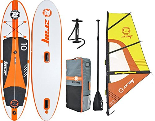 Inflatable SUP Set Windsurfing Board by Z-Ray