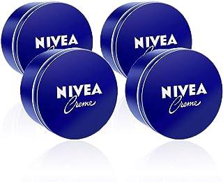 NIVEA Crema Hidratante para Manos Cara y Cuerpo - 4 x 400 ml Total: 1600 ml