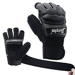 Xinluying MMA Gloves Boxing Gloves Punching Bag Sandbag Kickboxing Martial Arts Taekwondo Sparring Bandage Mens Ladies