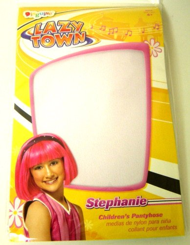 Child's Lazy Town Stephanie Costume Tights