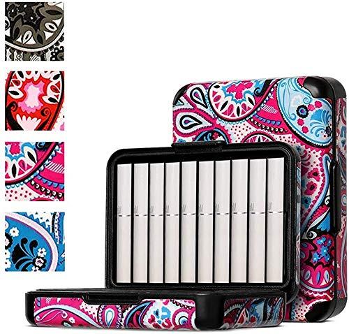互換iqosカートリッジケースクリエイティブ ヒートスティック専用 カートリッジ タバコケース 20本収納 iQOS加熱式タバコ箱 アイコス3 ケースアイコス3duo(4色) (フクシア)
