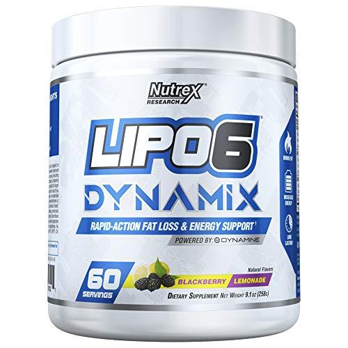 Nutrex Lipo 6 Dynamix, Blackberry Lemonade, 310 g