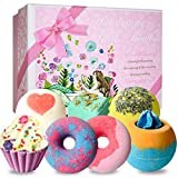 STNTUS Bath Bombs, 7 Luxurious Bath Bomb Gift Set, Handmade Spa Bubble Fizzies, Shea Cocoa Butter Lush Moisturize, Bath Gift for Women or Kids, Gifts for Christmas Birthday Valentines Mothers Day