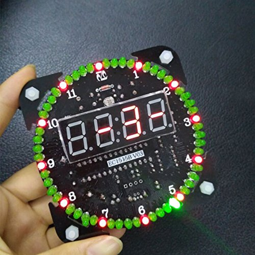 yourDroid Bausatz: DS1302 Rotation LED Uhr
