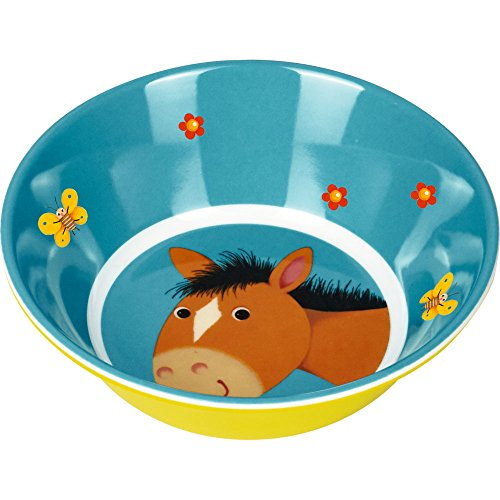 Melamin Schale Pferd Freche Rasselbande