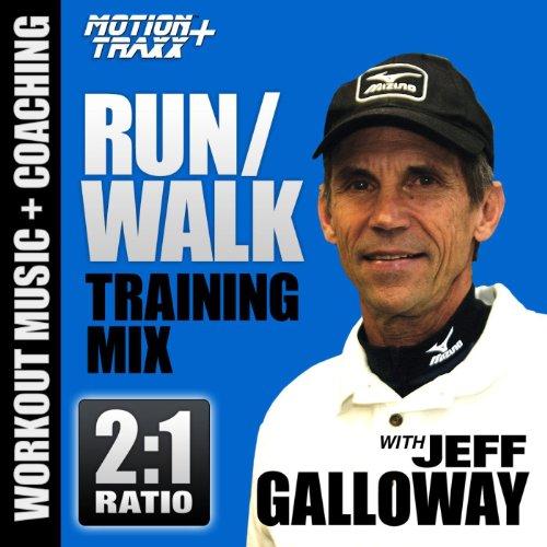 Run Walk - 2:1 Ratio (Running Interval Workout Music Mix W/coach Jeff Galloway)(5K, 10k, Half & Full Marathon Training)