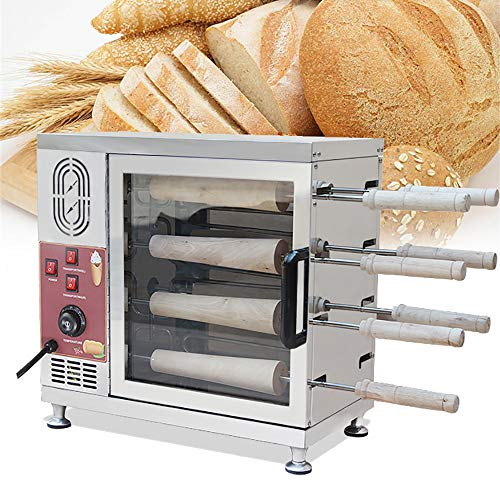 Check Out This Electric Ice Cream Cone Kurtos Kalacs Chimney Cake Roll Maker Oven Machine Holiday Ch...