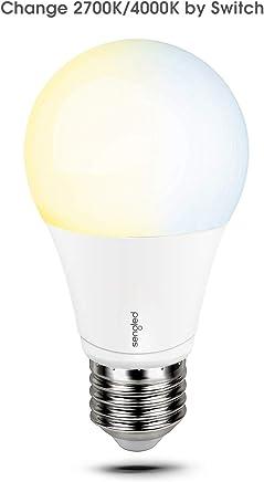 Sengled MDA60ND82740 Mood A19 LED, Adjustable Warm White and Daylight (2700K / 4000K) Light Modes, 60W Equivalent, E27