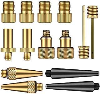 ZOEON 14pcs Adaptador para Bombas de Bicicleta Válvula Adaptador, DV AV SV Válvula Adaptador para Compresor