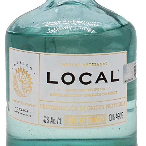 Mezcal Local Destilado con Corazón de Agave | Pechuga 42% (1 x 0.7 l) - 3