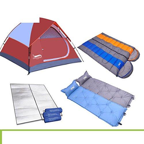 DXG&FX Outdoor-doppelte Zelt 3-4Als Menschen sturmsichere Zelt im Feld-A