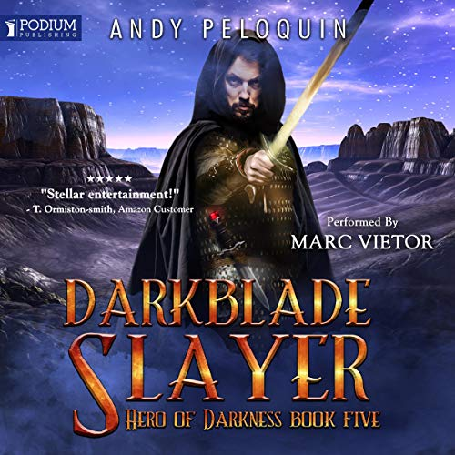Darkblade Slayer audiobook cover art