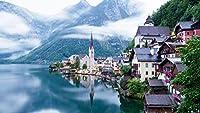Pクラシックジグソーパズル1000ピース大人のパズル木製パズルオーストリアの風景教育玩具ゲーム大人のための興味深いギフト子供ティーンエイジャー