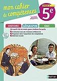 Histoire-Géographie EMC 5e Cycle 4 Mon cahier de compétences