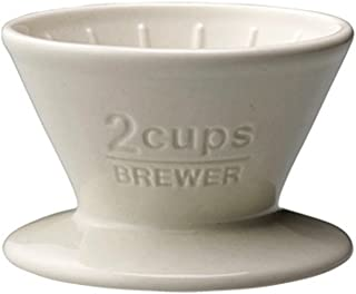 Kinto Slow Coffee Brewer Mug, 16 Oz. White