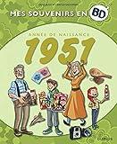 Mes souvenirs en BD - Année de naissance 1951