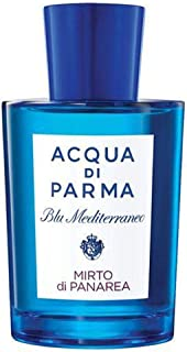 Aqua di Parma Blue Mediterranean Mirto di Panarea Eau de Toilette Spray for Women, 150 ml