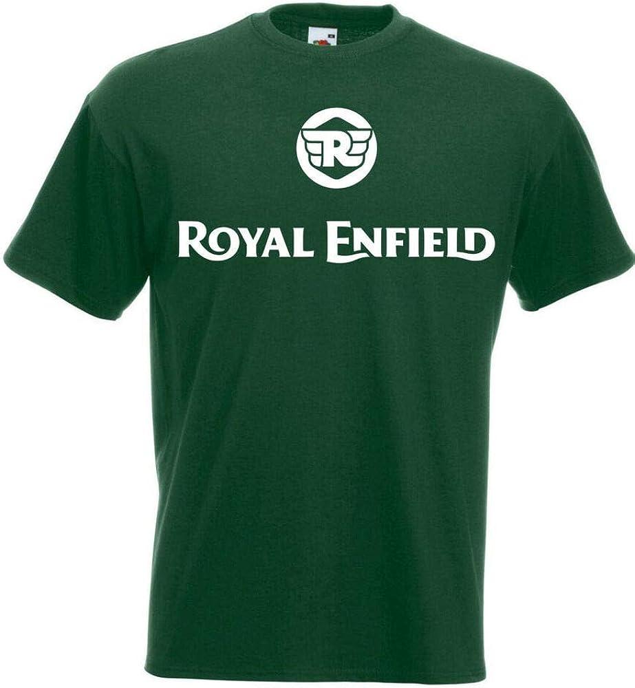 s New Biker m Vintage XL l Motorcycle T-Shirt Royal Enfield Logo Biker