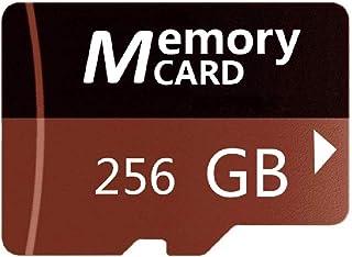 256GB Brown Micro Memory SDカード 高速メモリカード Class 10 スピードクラス データ転送, スマホ カメラ PC パソコン 等 対応 (256GB)