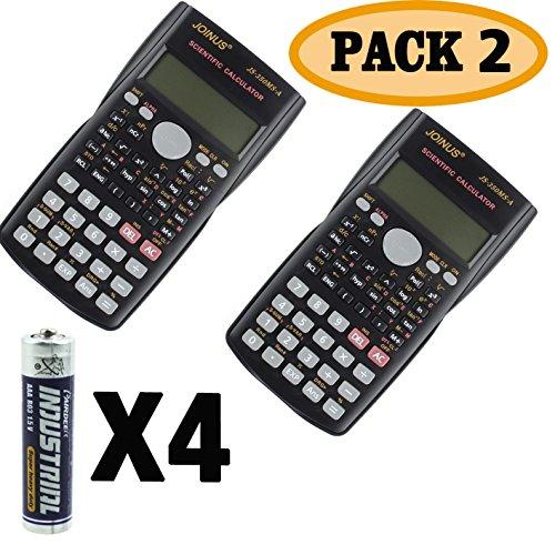 J-so 0001 Scientific Calculator, 2-Pack