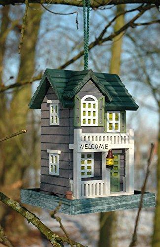dobar 25303FSC Detailverliebtes Vogelhaus mit Ständer im Western-Design - 3