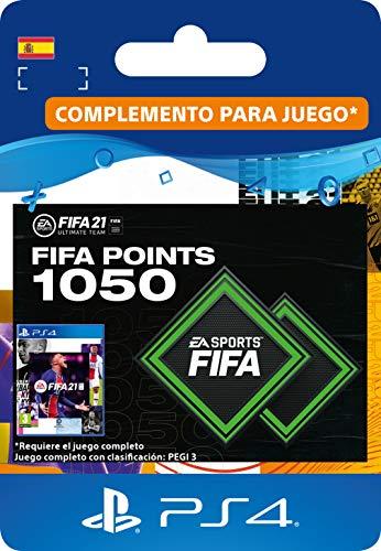 FIFA 21 Ultimate Team 1050 FIFA Points | Código de descarga PS4 (incl. upgrade gratuita a PS5) -...