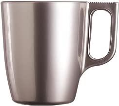 Luminarc - Tazas mug Vidrio Flashy Breakfast 6 piezas Luminarc Plata 6 piezas - 25 cl.