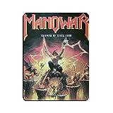 Manowar (Konzert- und Tour-Poster) Retro Poster Metall