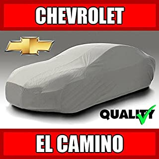 autopartsmarket Chevy El Camino 1968 1969 1970 1971 1972 Ultimate Waterproof Custom-Fit Car Cover