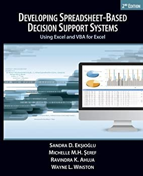 Developing Spreadsheet-Based Decision Support Systems 0975914685 Book Cover