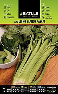 Semillas Hortícolas - Apio Lleno Blanco Pascal - Batlle