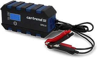 Cartrend 10620 ładowarka mikroprocesorowa do akumulatora samochodowego DP 6.0, 6 amperów do 6/12 V, 9-HF, funkcja automaty...