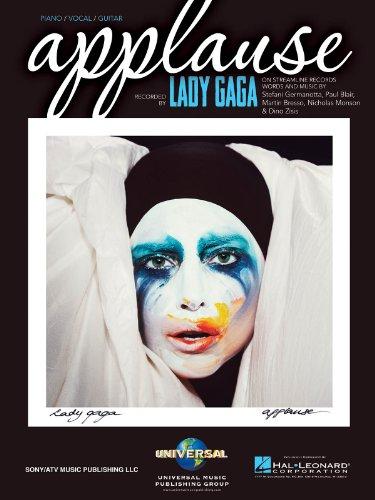 Lady Gaga-Applause-Klavier, Gesang und Gitarre-BOOK