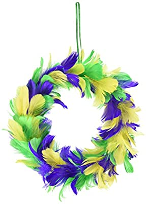 Beistle 57902-GGP Feather Wreath