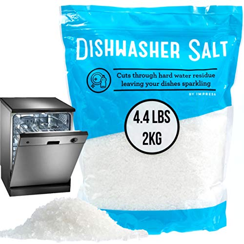4.4 LB Dishwasher Salt/Water Softener Salt -...