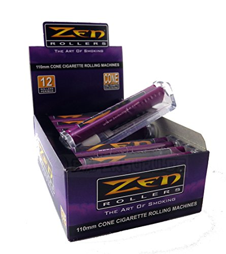 ZEN konische Drehmaschine 110 mm! Für King Size Papers! 1 Box (12x) Drehmaschinen