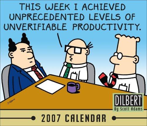 Dilbert 2007 Calendar