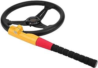 MasoAuto Steering Wheel Locks | Heavy Duty Anti-Theft with 2 Keys | Baseball Bat Universal Fit photo