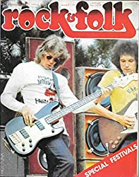ROCK & FOLK 116 1976 SEPTEMBRE SPECIAL FESTIVALS TUNA Jimi Hendrix Procol Harum Images Rod STEWART