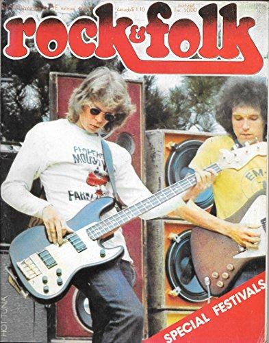ROCK & FOLK 116 1976 SEPTEMBRE SPECIAL FESTIVALS HOT TUNA Jimi Hendrix Procol Harum Images Rod STEWART