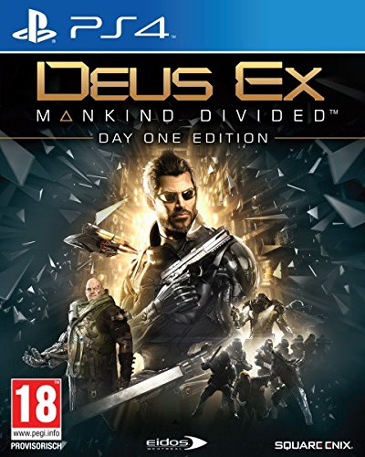 Deus Ex: Mankind Divided Day One Edition [AT-PEGI] (PS4)