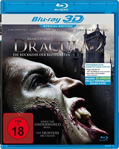 Dracula 2 - Die Rückkehr der Blutfürsten - Real 3D [Alemania] [Blu-ray]